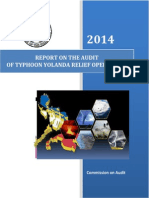 Report on the Audit of Typhoon Yolanda Relief Operations