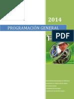 Programación i Congreso Venezolano de Agroecologia 2014 1