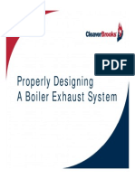 Properly Designing a Boiler Exhaust System