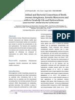 Analysis of Individual and Bacterial Consortium of Broth Culture of Pseudomonas Aeruginosa, Serratia Marscecens and Bacillus Subtilis to Emulsify Oils and Hydrocarbons