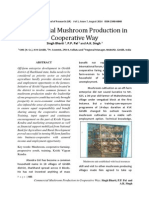 Commercial Mushroom Production in Cooperative Way by Singh Bharti , P.P. Pal and a.K. Singh