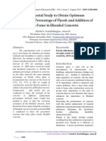 Experimental Study to Obtain Optimum Replacement Percentage of Flyash and Addition of Silica Fume in Blended Concrete by Girish.S, Karisiddappa, Amar.R