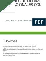 CALCULO DE MEDIAS POBLACIONALES CON SPSS.ppt