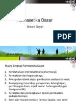 Farmasetika Dasar_Perkembangan Farmasi
