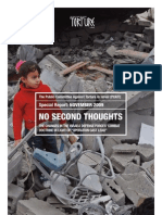 GAZA - The Changes in the Israeli Defense Forces' Combat Doctrine in Light of 'Opferation Cast Lead'