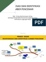 Inventarisasi Dan Identifikasi Sumber Pencemar-klh