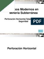 Curso Equipos Perforacion Mineria Subterranea Atlas Copco