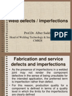 -Weld Defects Presentation