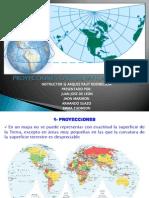 Proyecciones Cartograficas y Datum