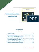 Manual Para Crear Una Marca Personalizada Teresa Alba MadridNYC