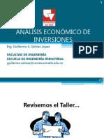 Análisis Económico de Inversiones Clase 4