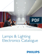 Philips Lamps Lighting Electronics 2013