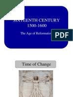 16thC Reformation