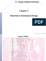 ME 4150 Fall-2014 Chapter-2 Materials in Mechanical Design