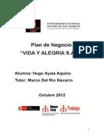 Hugo Ayala Aquino - Plan de Negocios - Entrega Final