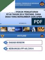 Bahan PP 60_2014_1_Edit Slide Sanksi Desa 4sept