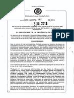Decreto 1432 Del 5 de Julio de 2013
