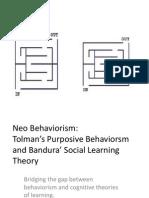 Neo Behaviorism