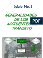 Modulo 1generalidades Accidentes de Transito