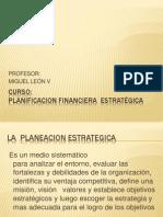 PLANIFICACION FINANCIERA ESTRATÉGICA