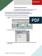 Membuat Efek Transisi Video Dengan Adobe Premiere