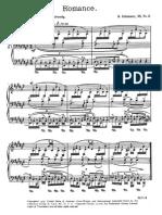 Schumann Romance Op.28 No.2
