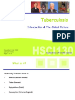 Lecture 12 - Tuberculosis Part I - Nov 3 2009