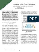 Online C C++ Compiler using Cloud Computing My IEEE