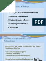 Produccion Justo a Tiempo Jit UPT 2013