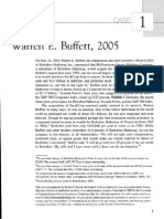 Reading 2 - Warren E Buffett 2005