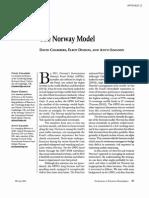 Norway Model