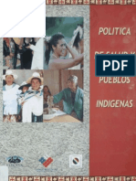 2006 Minsal Polit de Salud y Pueblos Indigenas