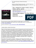 Cities as Battlespace_ the New Military Urbanism -- Graham, Stephen - Unknown