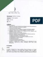 Cnba - Programa de Castellano y Literatura - Cuarto Ano - 2014