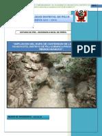 Ampliacion Del Muro de Contencion en La Localidad de Vichaycoto