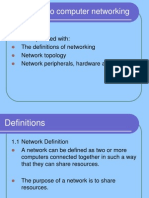 1 Introduction to Computer Networking
