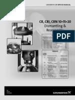 Manual de Desmontaje y Montaje