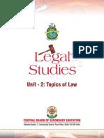 XII U2 Legal Studies