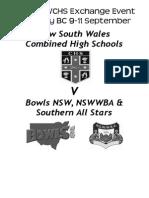 NSWCHS Program 2014