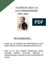 Constitución 1833 y República Conservadora (1)