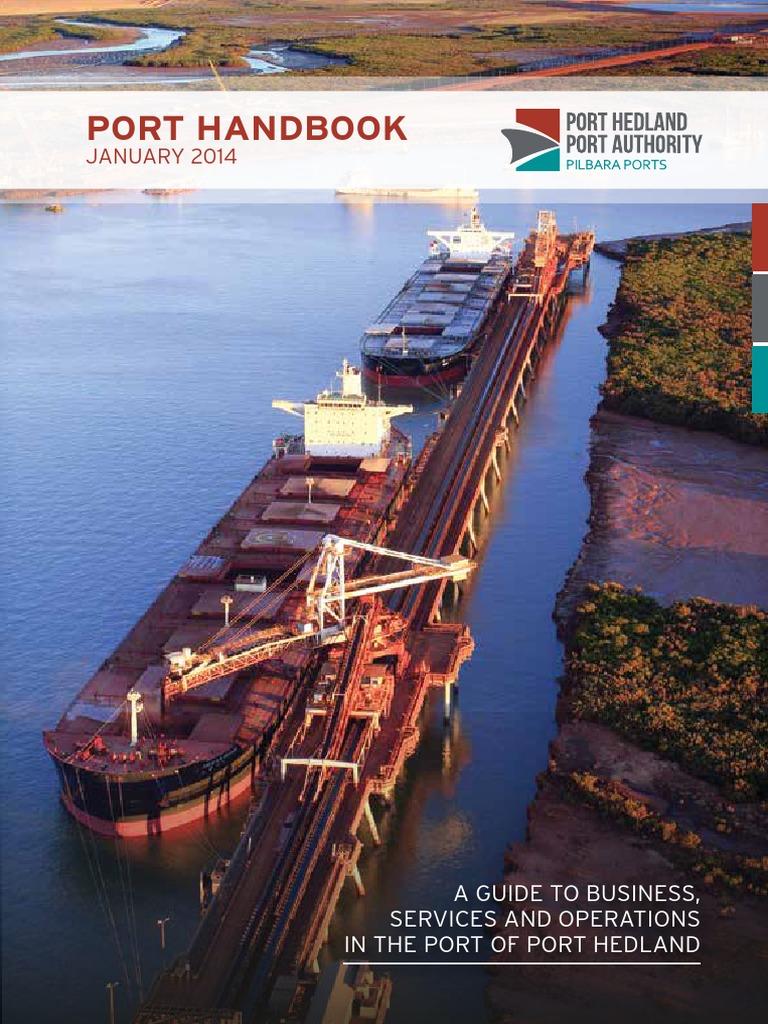 35207 Phpa Port Handbook A5 Fnl Webres1 Tide Iron Ore