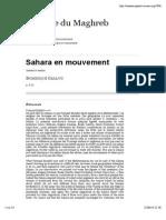 Sahara en Mouvement