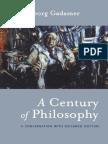 2000 a Century of Philosophy Hans Georg Gadamer in Conversation With Riccardo Dottori[1]