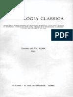 Archeologia Classica 1982