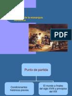 La Crisis de La Monarquía Borbónica (Curso 2014-15)