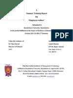 summer internship report of sharma ji