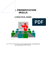(207295687) Oral Presentation Skills
