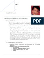 Resume of JAVIER L