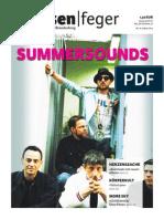 Summersounds - Ausgabe 16 2014 des strassenfeger