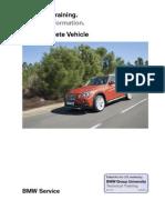 BMW X1 E84 Complete Vehicle